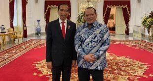 Ketua DPD RI  Bersama Donny Moenek Bertemu Presiden, Diskusikan Persoalan Daerah