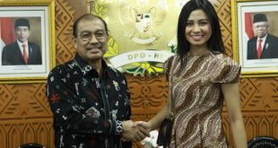 Wakil Ketua DPD RI Nono Sampono Dukung Yoan Clara Jadi Putri Indonesia 2020