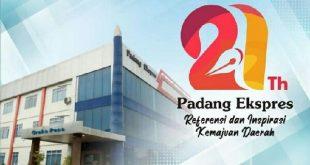 HUT ke-21, Padang Ekspres Gelar Syukuran dan Bakti Sosial
