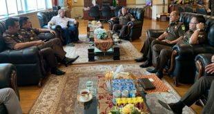 Ketua DPD RI, Minta Kajati Sulsel Bantu Kawal Pembangunan