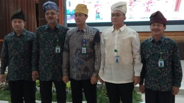 LPMP Sumbar bersama  LPMP Riau dalam kegiatan soft skill