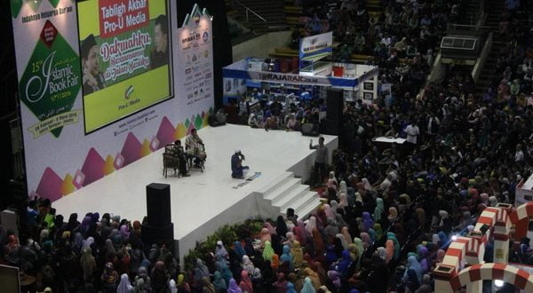 Pameran buku-buku Islam terbesar di Tanah Air, Islamic Book Fair