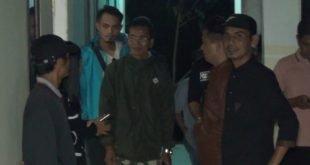 Puluhan Warga dan Aparat Razia Penghuni Rumah Kontrakan di Pulau Punjung