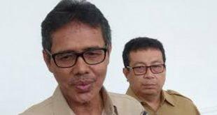 Gubernur Sumbar Irwan Prayitno bersama Kepala Biro Humas Setdaprov Jasman