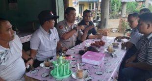 Kapolsek Pulau Punjung Langkah Persuasif Antisipasi Kebakaran Hutan dan Lahan