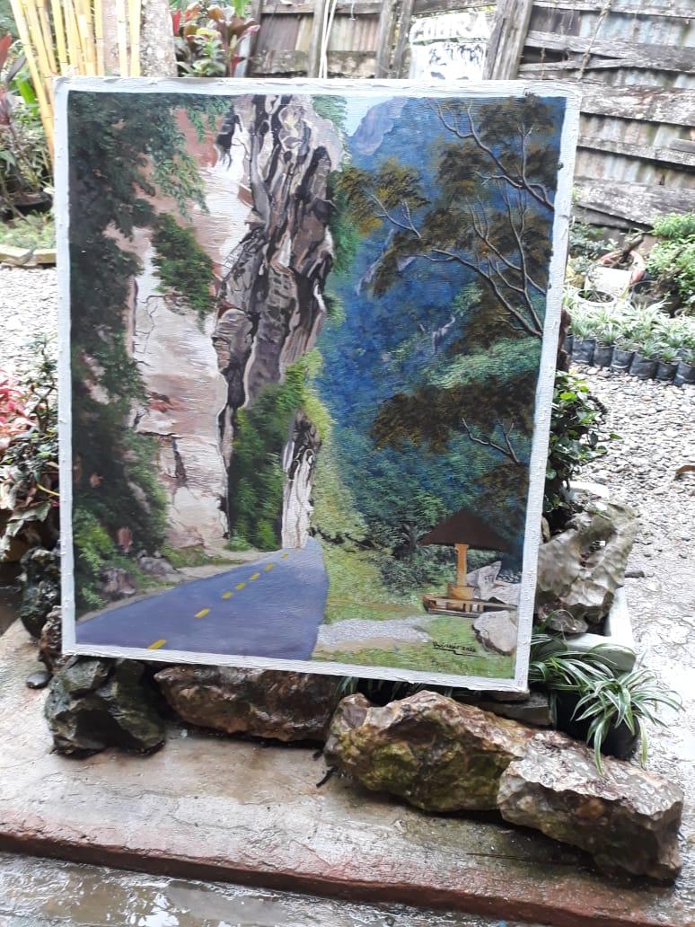 Lukisan Silokek, salah satu destinasi wisata di Kabupaten Sijunjung