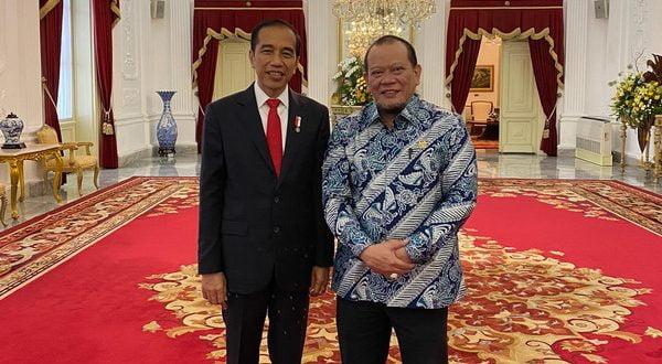 Ketua DPD RI dan Presiden
