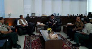 Kunjungan Bupati Pasbar, H. Yulianto didampingi Kalaksa BPBD, Edi Busti ke kantor BNPB Pusat di Jakarta,
