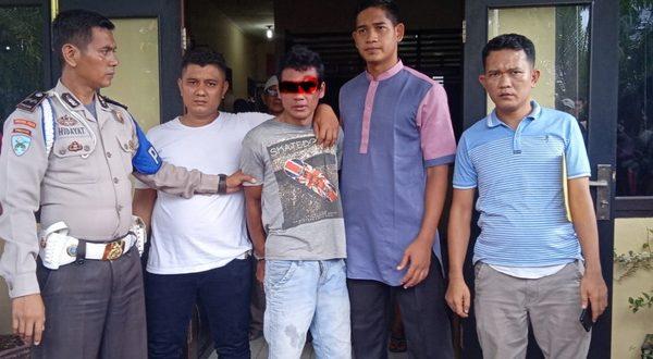 MS (24) diduga melakukan perbuatan pencabulan anak dibawah umur saat ditangani Aparat Polsek Kinali