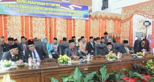 Rapat Paripurna Istimewa DPRD Pasbar HUT ke 16