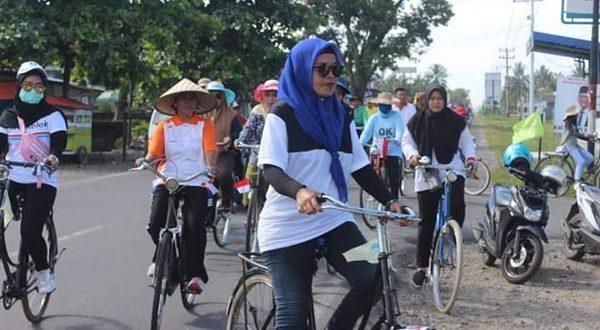 Sepeda ontel meriahkan Hari Jadi Pasaman Barat