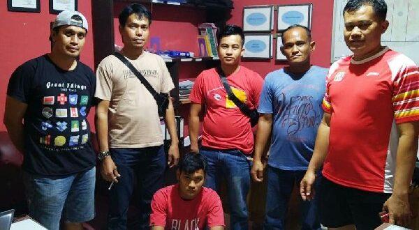 Salah seorang gerombolan pemerkosa diciduk aparat Polres Dharmasraya