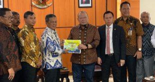 Bupati Pacitan Indatarto meminta dukungan dari DPD RI dalam rangka percepatan pembangunan beberapa sektor strategis