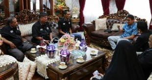 Diskusi Jaringan Pemred Sumbar dengan Gubernur Sumbar, Irwan Prayitno