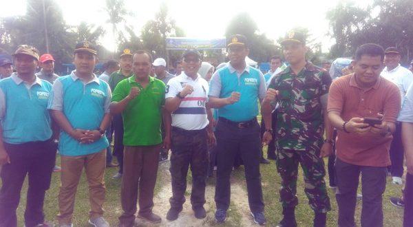 PembukaanPopesta gelar Open turnamen Sepak Bola antar Club se-Kabupaten Pasaman Barat