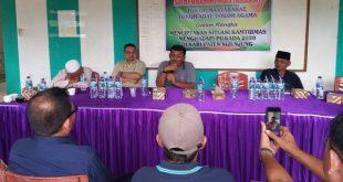 Pertemuan tokoh masyarakat dan masyarakat Kecamatan Koto VII Kabupaten Sijunjung