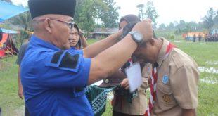upacara Scout Jambore Perguruan Mualimin Muhammadiyah Tsnawiyah dan Aliyah Muhammadiyah Silaping