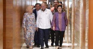 Ketua DPD RI bersama Ketua DPR RI Puan Maharani
