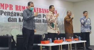 Ketua MPR Bambang Soesatyo dalam diskusi MPR Rumah Kebangsaan di Jakarta (17/3/2020)