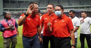 Kick Off Liga 2 yang berlangsung di Stadion Batakan, Balikpapan
