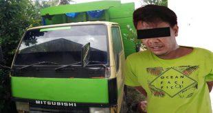 Pencuri Truk beserta truk hasil curiannya
