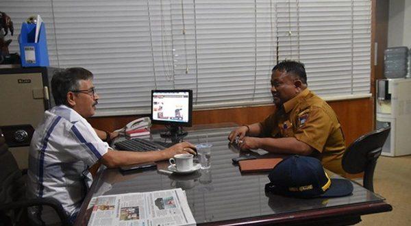 Silaturahim Dengan Jajaran Harian Singgalang, Kabag Rengganis Beberkan Prestasi Wali Kota.