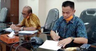 Anggota DPRD Sumbar HM Nurnas dan Hidayat meradang terkait belum cairnya bantuan jaringan pengaman sosial masyarakat terdampak covid-19