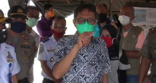 Kunjungan Gubernur Irwan Prayitno ke perbatasan Sumbar di Dharmasraya