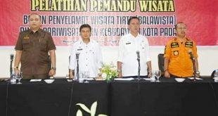 Pelatihan Balawista Disparbud Padang