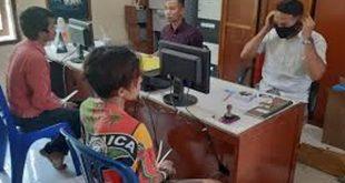 Polisi interogasi para pelaku pengeroyok Ridwan (foto haluan)