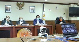 Ketua DPD RI AA LaNyalla Mahmud Mattalitti mengikuti launching virtual