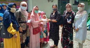 PWP Area Sumbar dan Para Ibu HISWANA Migas Santuni Anak Yatim