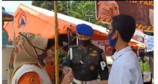 Cekcok Ketua KPU Sumbar dengan petugas Covid-19 di Lubuk Paraku