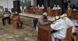 Polres Dharmasraya gelar Rapid Test