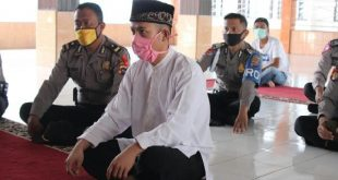 Tahanan Polres Sijunjung Berikrar Dua Kalimat Syahadat