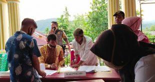 Pemerintahan Nagari Bomas Koto Baru tetapkan penerima Bantuan Langsung Tunai (BLT) Dana Desa.