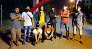 Dua pelaku Pencurian Curanmor ditangkap oleh Anggota Reskim Polres Dharmasraya