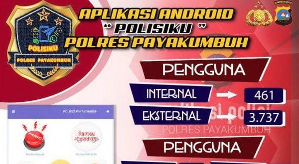 Aplikasi polisiku Polres Payakumbuh
