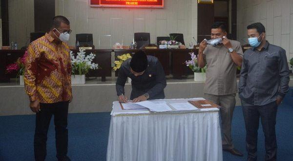 DPRD Solsel Gelar Rapat Paripurna tentang Perubahan OPD