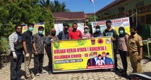 Kukerta di Padang, Mahasiswa Unri Sosialisasi Pola Hidup Baru