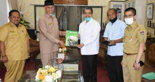 Rektor Unand temui Walikota Padang terkait seleksi penerimaan mahasiswa baru