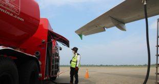 Pelayanan Avtur di DPPU Minangkabau