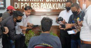 Jambret sadis Rangga Pratama diwawancarai wartawan