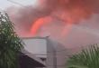 Kebakaran Hebat di Kota Padang, Belasan Damkar Dikerahkan