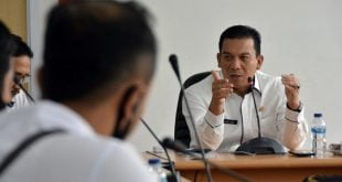 Sekdako Padang Panjang, Sonny Budaya Putra, pada rapat evaluasi PPDB