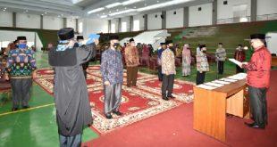Rektor IAIN Batusangkar Lantik Warek, Dekan dan Direktur Pasca Sarjana