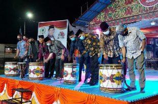 Wakil Gubernur Sumatera Barat Nasrul Abit Dt. Malintang Panai membuka acara Festival Ekonomi kreatif Tahun 2020
