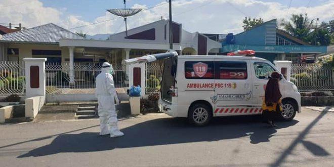 Jumlah Pasien terkonfirmasi positif Covid-19  Kabupaten Solok Meningkat