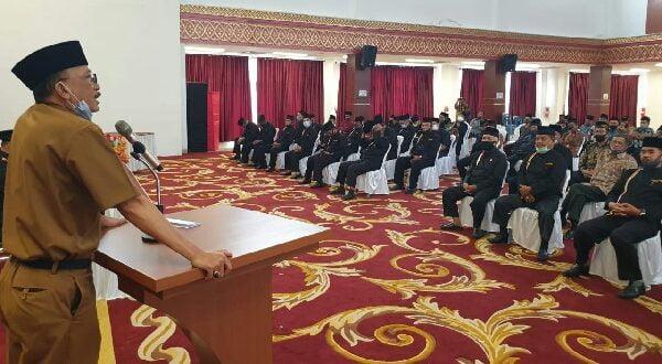 Dihadapan Peserta Raker, Hendrajoni Janji Bangun Kantor LKAAM Representatif