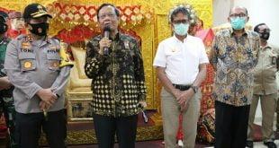 Menkopolhukam Mahfud MD saat jumpa pers di BIM, Kamis (16/9/2020) sore